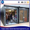Food Kiosk Warehouse Guard House Booth Sentry Box House Hotel Office Use and Steel Material container house