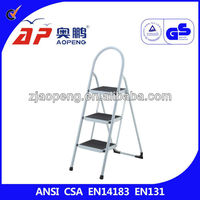 3 Step Household Step Ladder Metal Prices CHEAP PRICE
