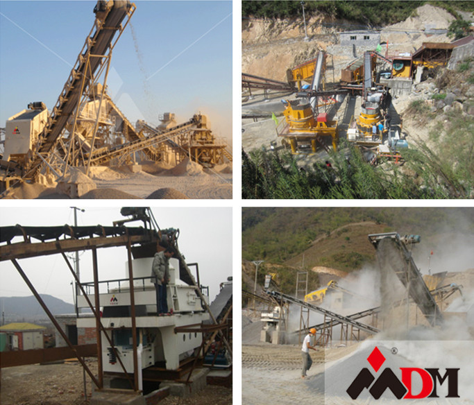 sand making machine productioin line with CE GOST certification