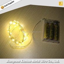low cost high quality christmas flash usb color led copper string light