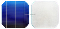 Good quality and low price of mono solar cell with 17.2% to18.8% efficiency solar cells 156x156
