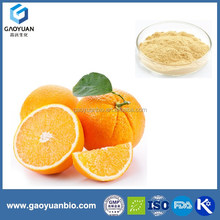 gaoyuan factory supply high quality organic orange powder fruit drink mix with free sample