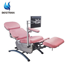 BT-DN003 luxury blood bus and central electric blood collection donor chair bed