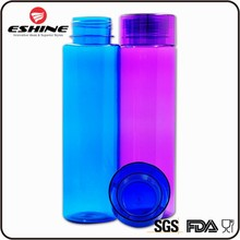 ESHINE Delivery On Time 1000ml Large Capacity Straight Plastic Water Bottle BPA Free