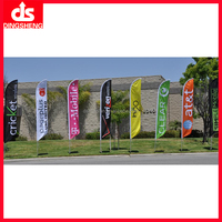 printing black yellow red banner flying flag