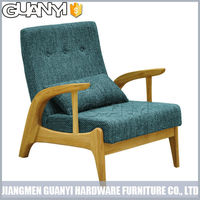 chinese style latest living room furniture sofa with soft backrest