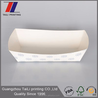 Premium disposable cake paper serving tray