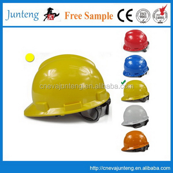 Yellow /Red/Blue / Color/Customized electrical safety helmet