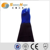 sunnyhope good quality pvc coated fishing gloves