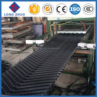 PVC black cooling tower fill/ Industrial evaporative Cooling Tower fill pack