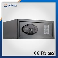 High security smart metal digital cash safe box hotel safety electronic laptop safe deposit box