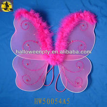 2013 New Design Pink Butterfly Wings for Baby