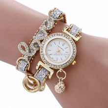 Fashion hand watch for girl ,love watch Wholesales NSWH-00055