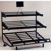 Supermarket Display Rack and Stand for Vegetables and Fruits OEM Xiamen Factory