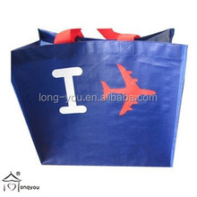 high quality pp woven eco friendly laminated PP woven shopping tote bag