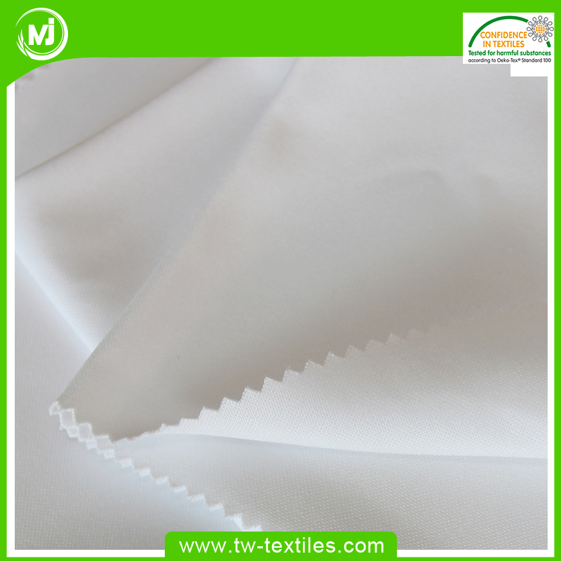 100% Polyester Double Knitted Gym Wear fabric with Abrasion Resistance