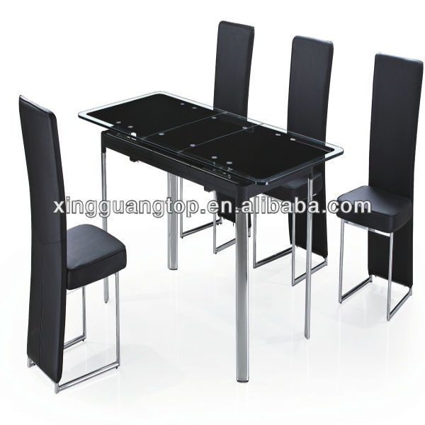 Modern Dining Room Set Extendable Dining