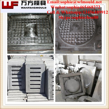Alibaba mold supplier WF Mould manhole cover compression mold manufacturer bmc compression mold for manhole cover