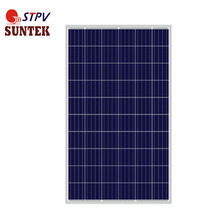 Top chinese supplier SUNTEK 270W Poly-crystalline Solar Panels for power system