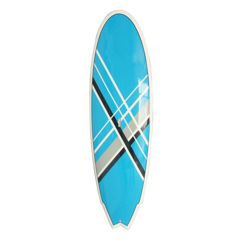 2016 new design blue surfboard cheap EPS foam longboard