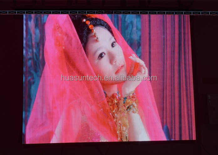 P7 .8125 indoor Full Color LED Stage background Display indoor soft flex led screen