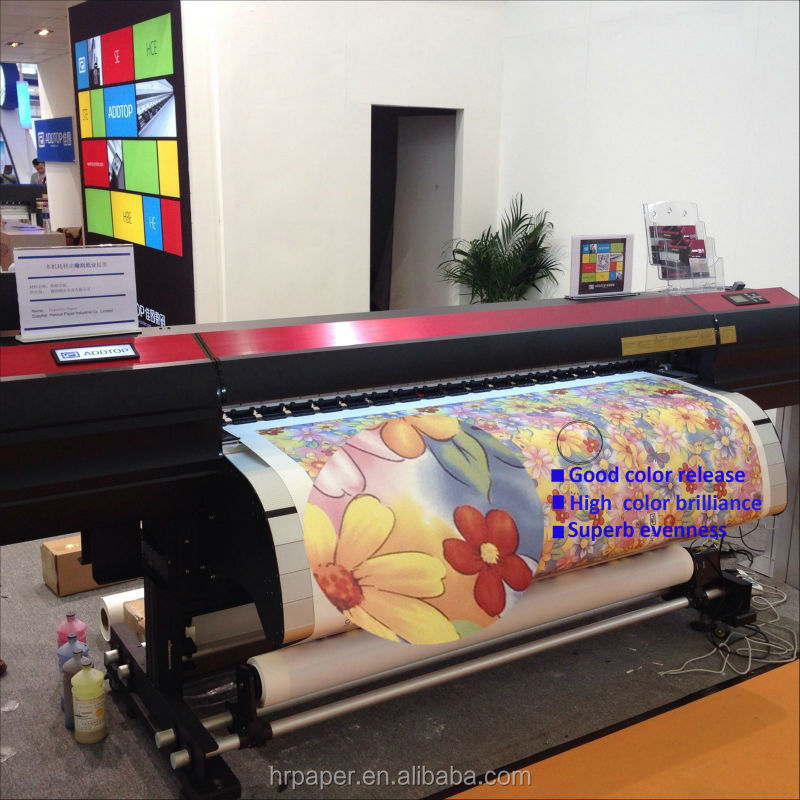 115gsm instant dry Hybrid Sublimation Paper for Uniform,sportswear,printing