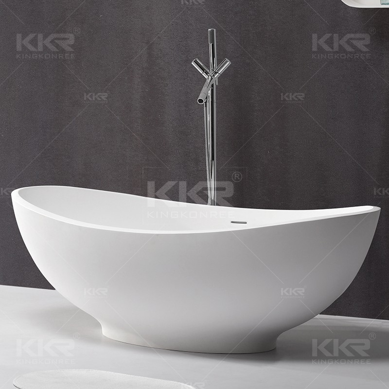 artificial stone bath Unique art design bath tubs