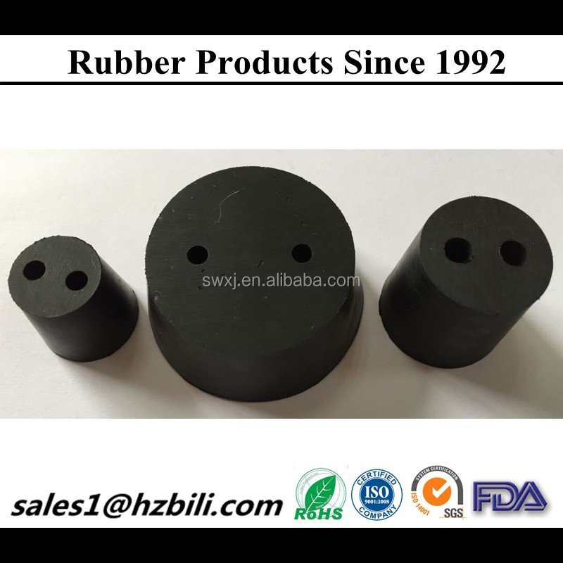 USA standard rubber plug for lab bottle,for test tube