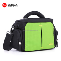 Newest Green Nylon Digital Camera Case waterproof and shockproof camera case