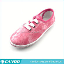 Popular In Korea Yiwu Shoes Made in China Informal Canvas Shoes