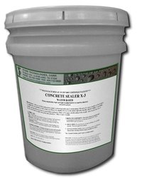 5 Gallons of Waterproof and Stain Repellent Concrete Sealer X-3