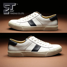 Wholesale Men White Sport Shoe Canvas Casual White Shoes