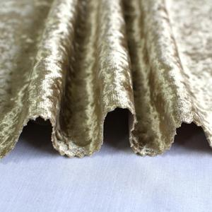 popular high quality textiles upholstery crushed ice velvet fabric used for sofa