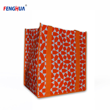 Low price OEM new fashion widely use various shape folding shopping bag