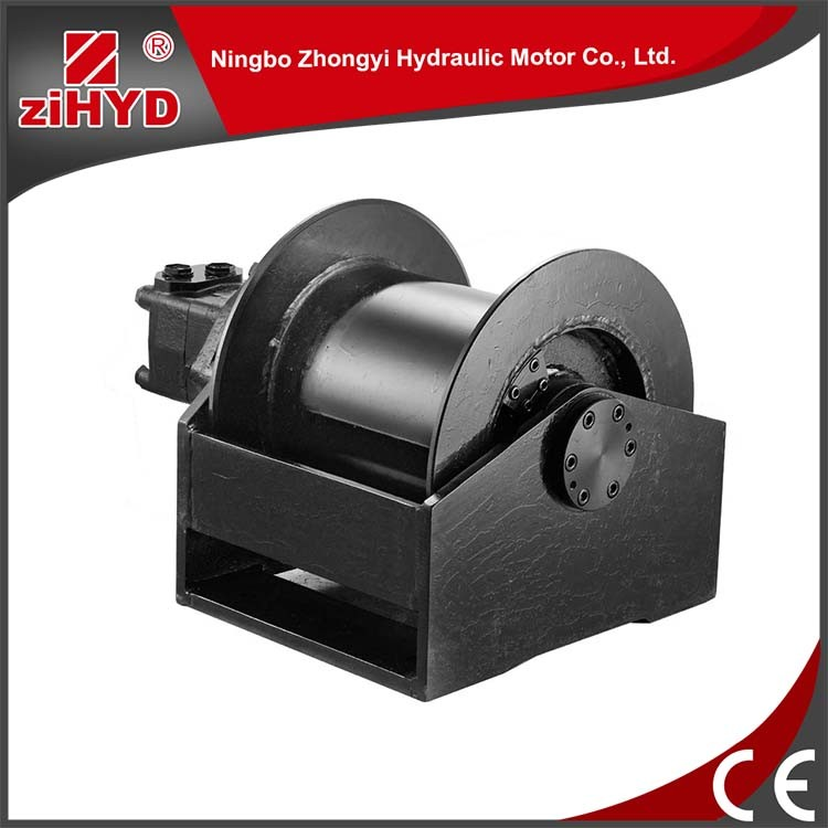 Radial and axial load available hydraulic winch motor
