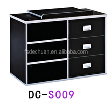 Dechuan new model book stand MDF woof book shelf for sale