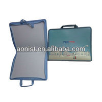 blue PVC Document case