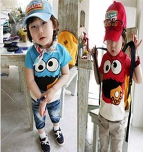 D80275H EUROPE LATEST FASHION DESIGN BOYS T-SHIRTS