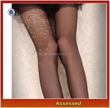 Hot Sale Custom Crystallized Sheer Sexy Ladies Silk Stockings/Wholesale Women Leggings Tights/Girls Pantyhose---AMY150221