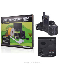 Top Rated Waterproof Dog Collar Outdoor Electric Portable Dog Fence Pet Containment System for Many Dogs