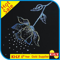 hot sale motifs strass rhinestones transfer for clothes hot fix motifs