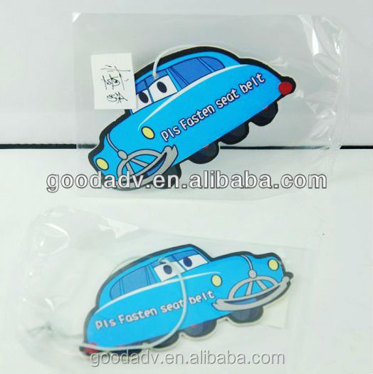 Cartoon Car Design scented sachet Promotional Giveaway closet scented sachet