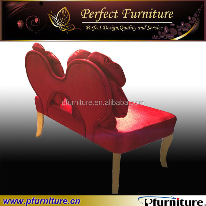 Red rose wedding sofa PFS800699