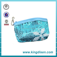 Sequined wallets lady purse women girls with handle