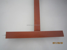 light weight building materials wood t bar / t runner suspended ceiling