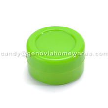 OEM service Factory fda non-stick silicone weed jar wax/oil containers with low price