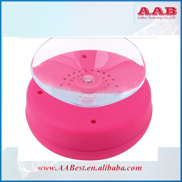 100pcs portable wireless bluetooth waterproof shower speaker dhl ems free shipping with retail box