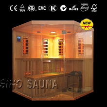new arrival multifunctional 2-in-1 infrared sauna shower combination