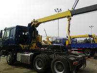 CHINA EURO 2 TRUCK MOUNTED CRANE FOR SALE XMCG CRANE