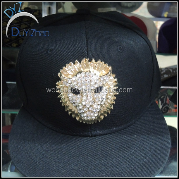 Fashion lion head Base Ball Cap Of Outdoor Head Dress